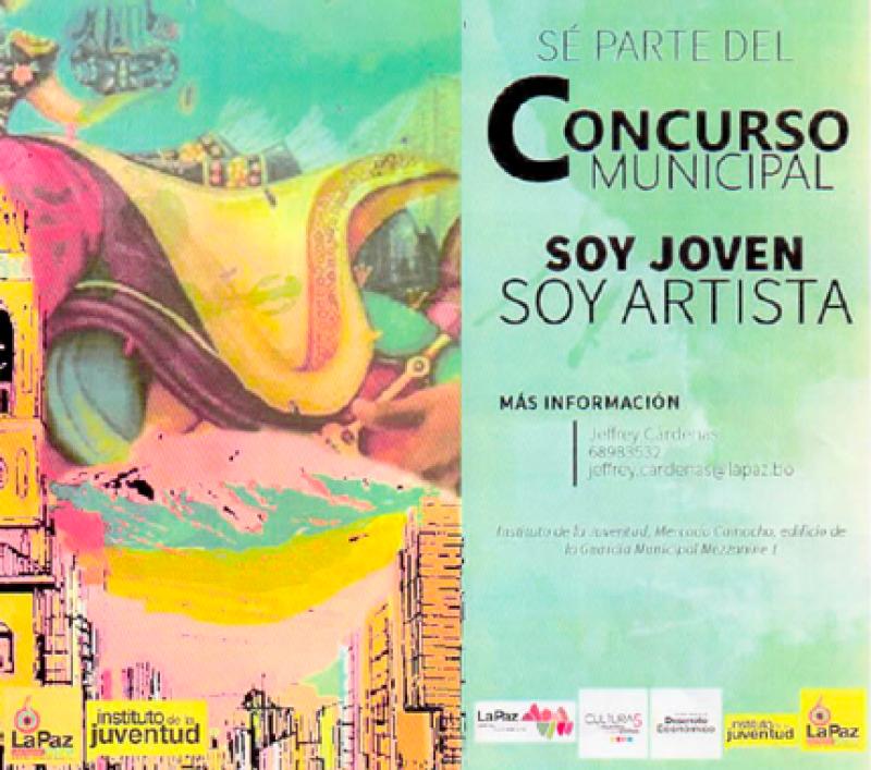 Convocatoria Concurso Municipal: Soy Joven, Soy Artista (GAMLP)
